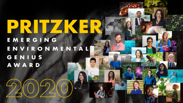 announcing the candidates for the 2020 pritzker emerging environmental genius award