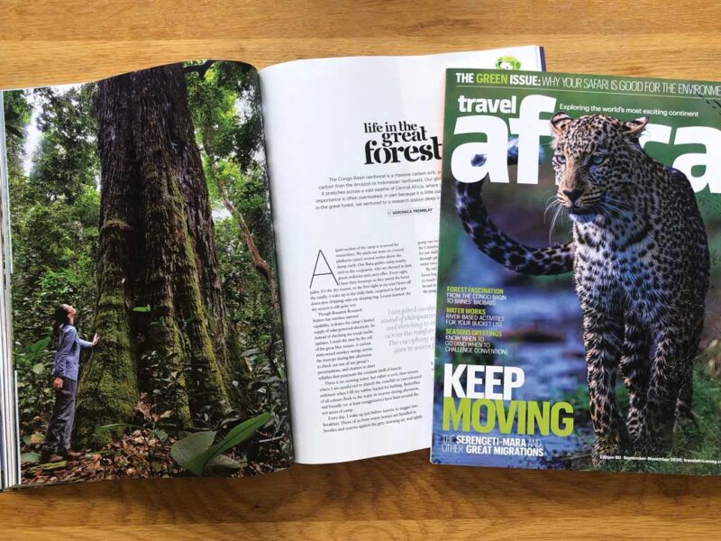 travel africa features cbi field station in cameroon