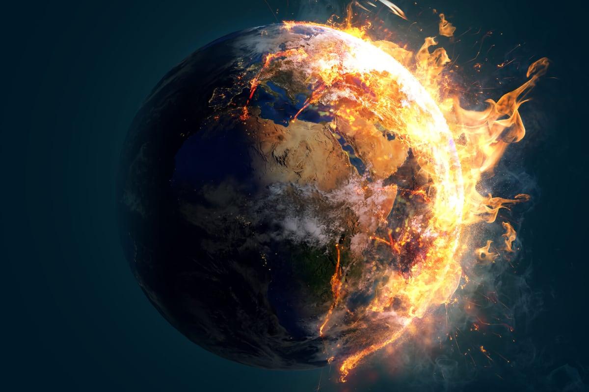 Burning Planet Earth