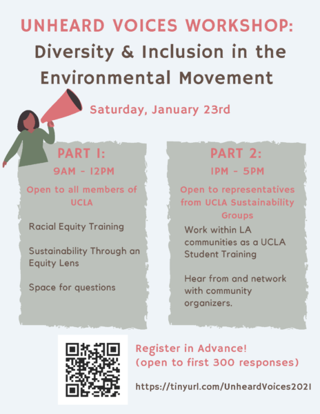 cdls unheard voices workshop: diversity and inclusion in the environmental movement