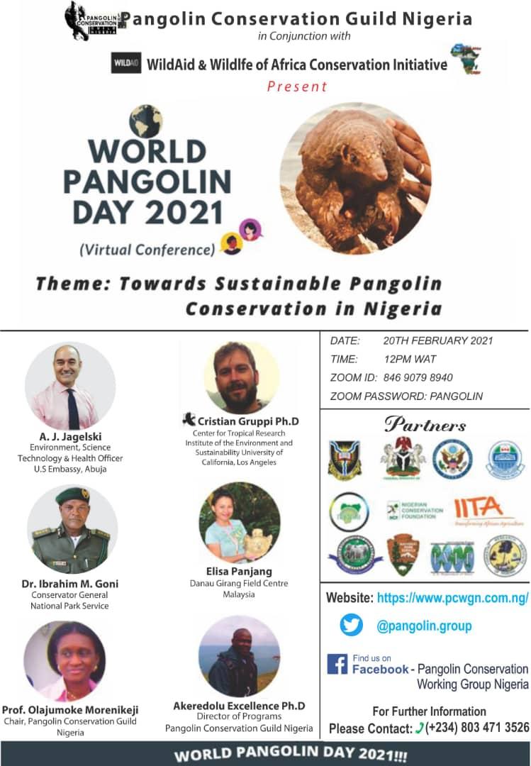 cristian gruppi presents at world pangolin day nigeria conference