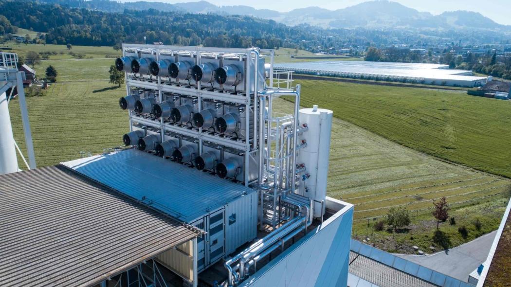 direct capture air plant