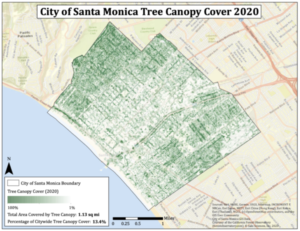 assessing biodiversity indicators in santa monica