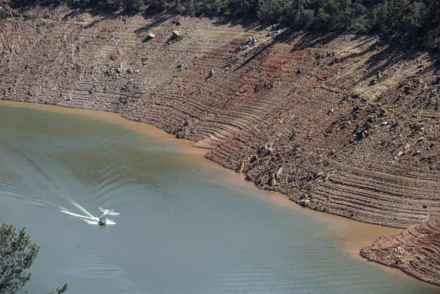 Lake-Oroville-Californias-second-largest-reservoir-in-Oroville-on--June-
