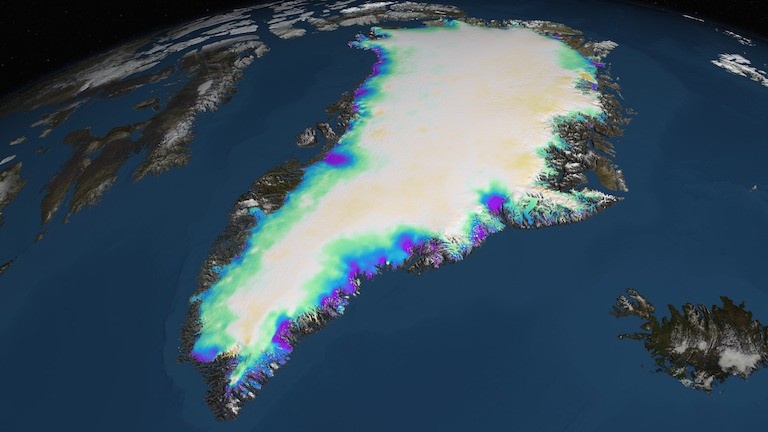 a cold case on greenland's glaciers warms up with new evidence