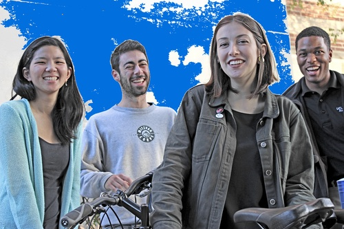 biking in on-campus housing
