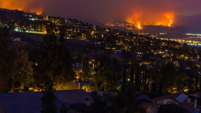 la's new abnormal: mega-wildfires