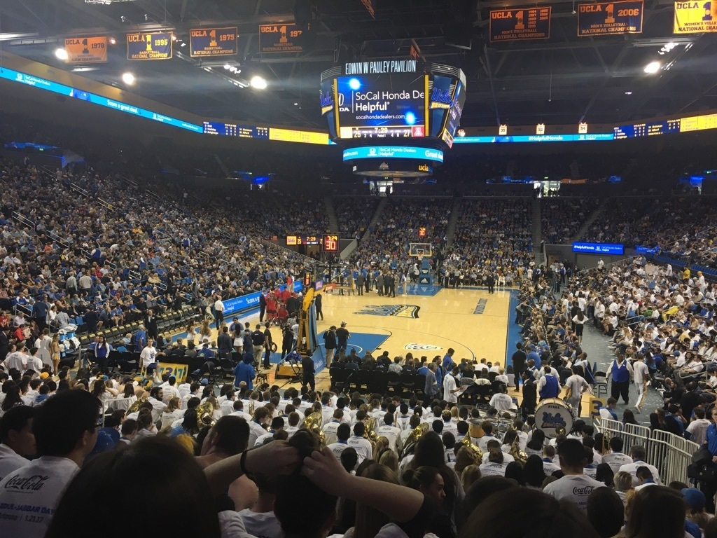 getting to know pauley pavilion