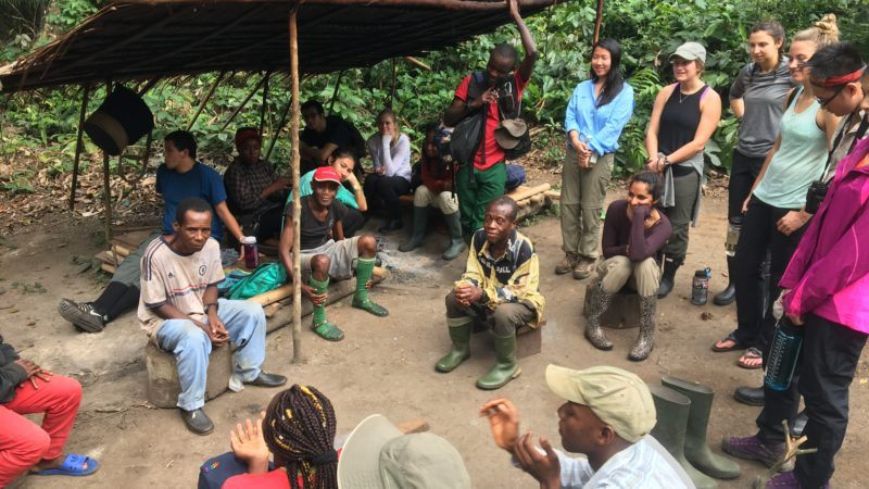 students re-establish vital foothold for research deep in african rainforest