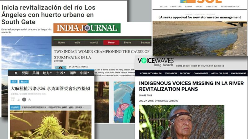 Headlines in ethnic publications