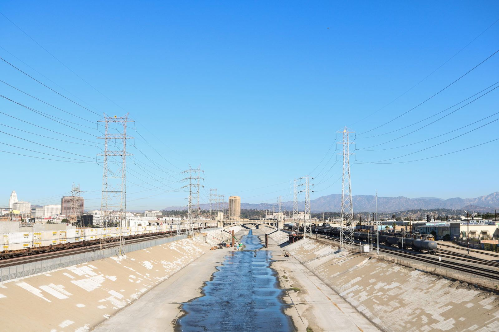 Los Angeles River downtown