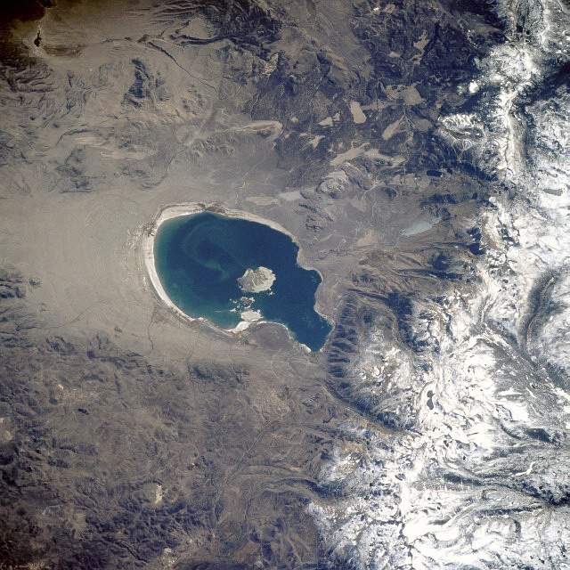 a changing climate at mono lake could mean more dust storms in the eastern sierra — or less water for l.a.