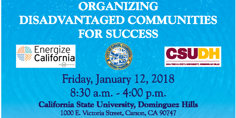 organizing disadvantaged communities for success conference
