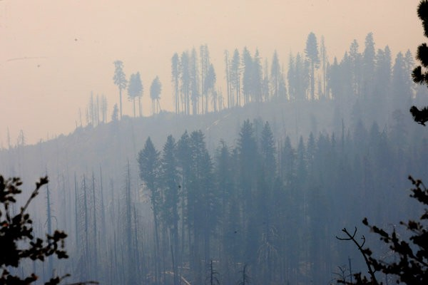 california today: ferguson fire forces largest closing of yosemite in decades