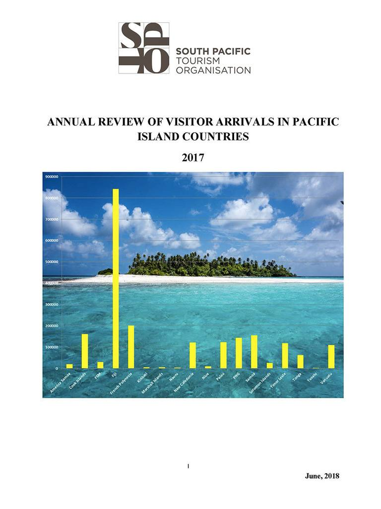Annual Review of Visitor Arrivals in Pacific Island Countries 2017