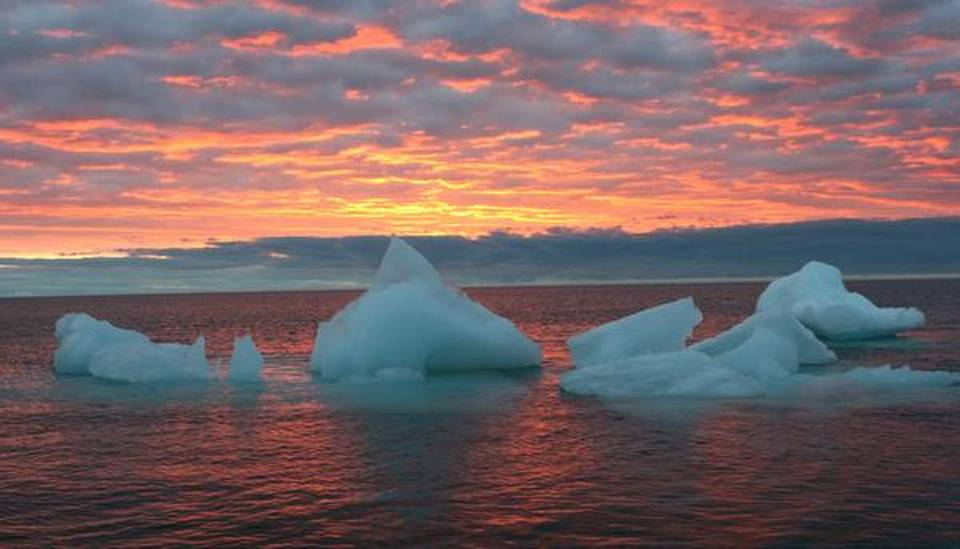 chad thackeray and alex hall study in the hindu: arctic ocean may be ice-free for part of year by 2044, finds study