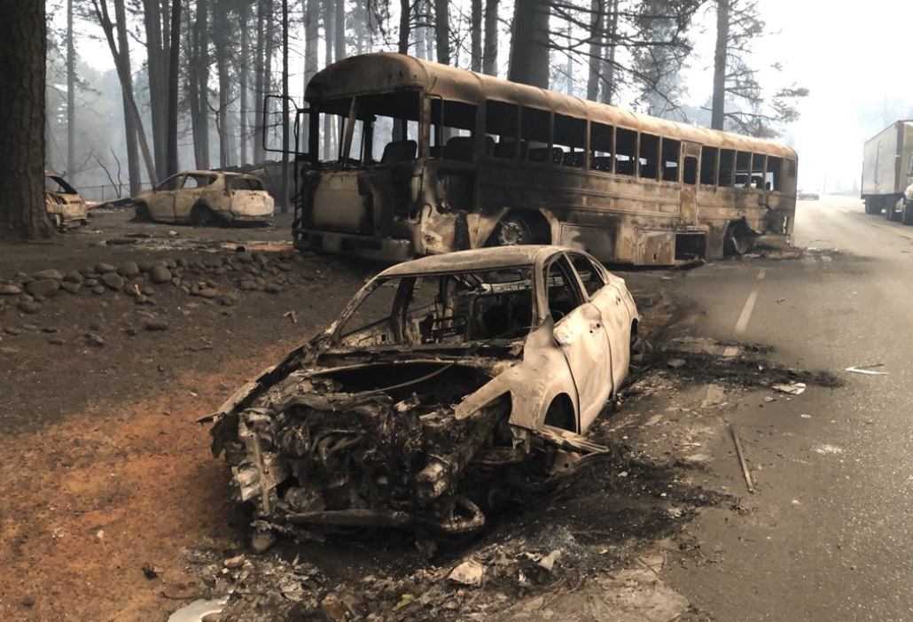 'camp fire' in california still growing, kills 5 people