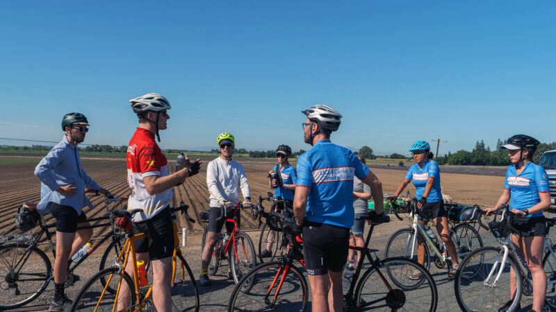 bike expedition raises awareness of climate change in california