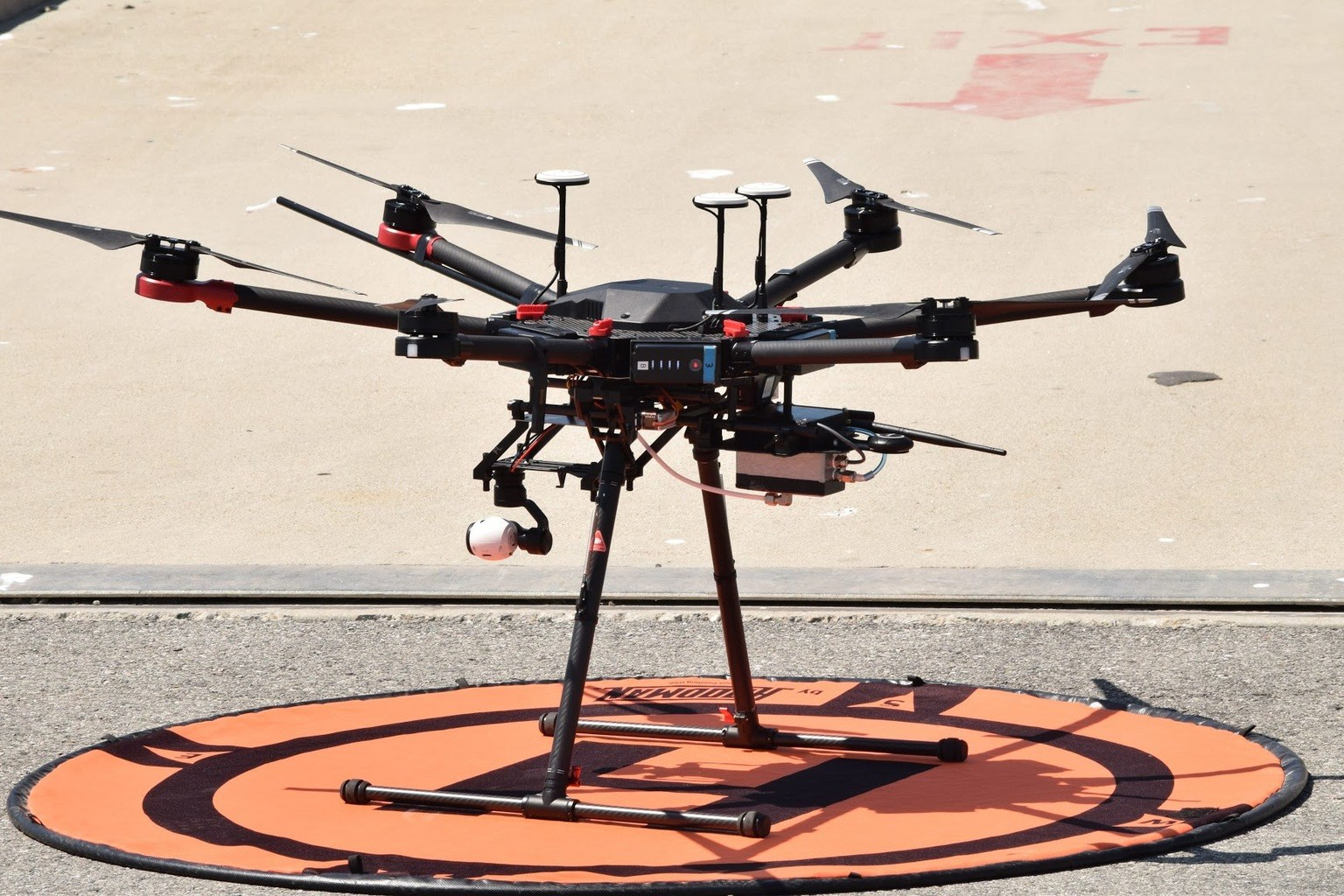 Drone monitoring of ship emissions could save lives, protect