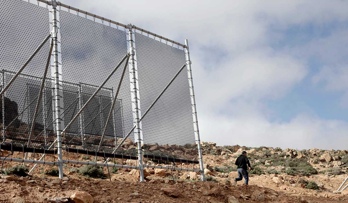turning fog into water transforms women's lives in morocco