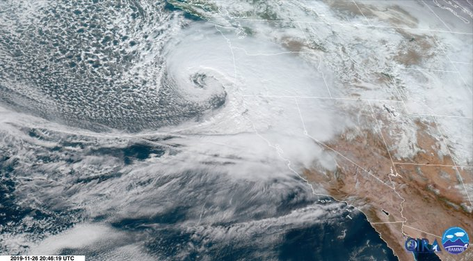 daniel swain quoted in redding record searchlight: historic 'bomb cyclone' crashes into coast, sending rain and snow shock waves inland