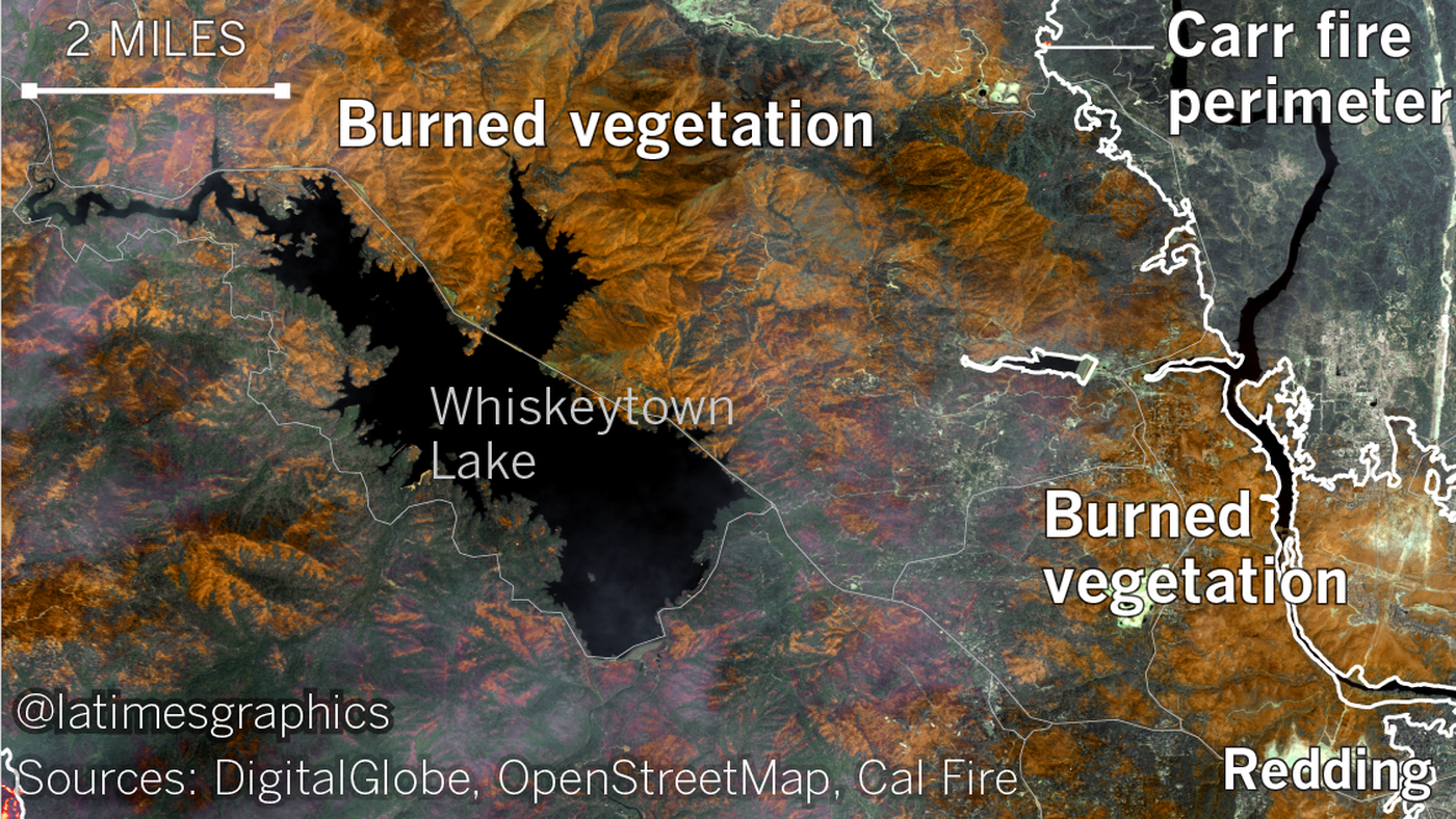 the common thread in california's wildfires: heat like the state has never seen