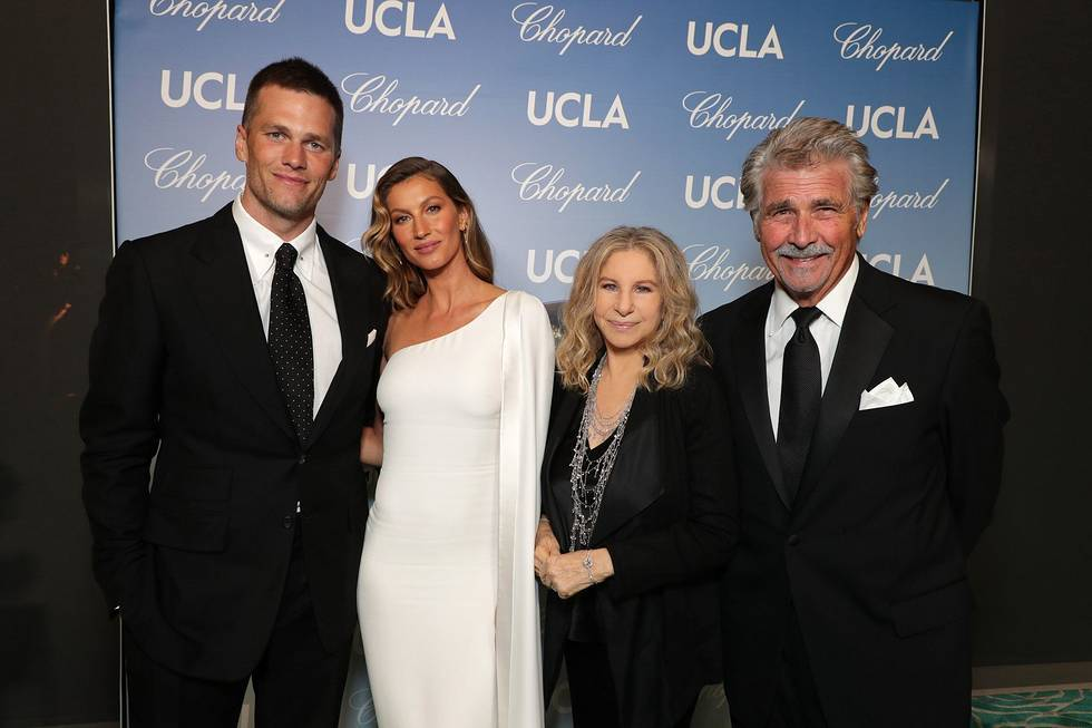 gisele bündchen and barbra streisand honored for environmental leadership at ucla gala
