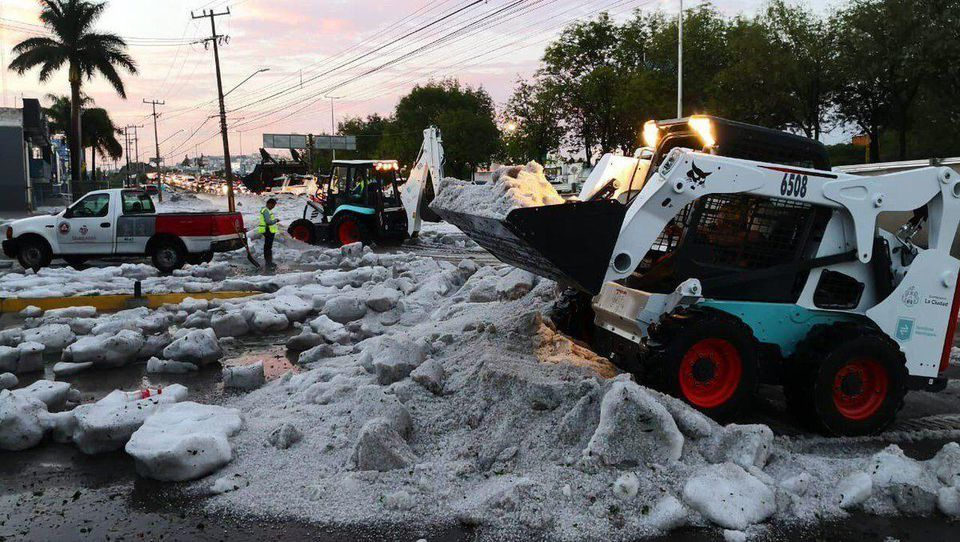 daniel swain in cnet: freak hail and flooding creates summer icebergs in a mexican city