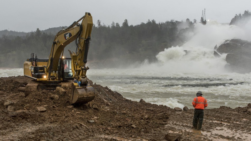 california faces steep increase in 'precipitation whiplash,' threatening infrastructure