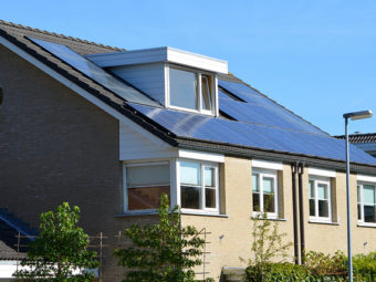 how solar power and electric cars could make suburban living awesome again