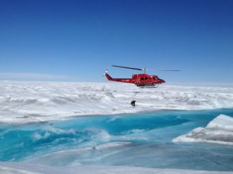 ucla-led study shows how rivers of meltwater on greenland's ice sheet contribute to rising sea levels