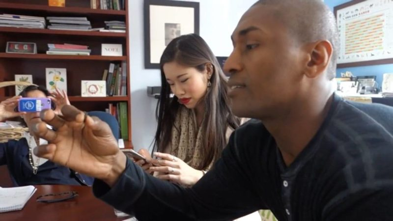 bug banquet – metta world peace & ucla students eat crickets