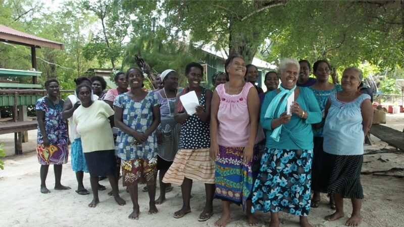 women in solomon islands