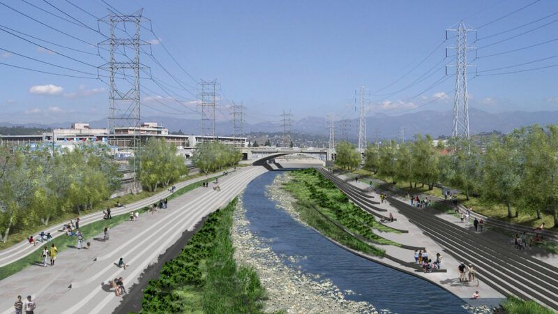 how competing los angeles river revitalization plans will affect surrounding communities