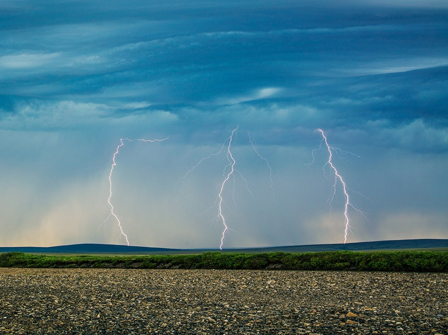 daniel swain in wired: why lightning strikes in an arctic gone bizarro
