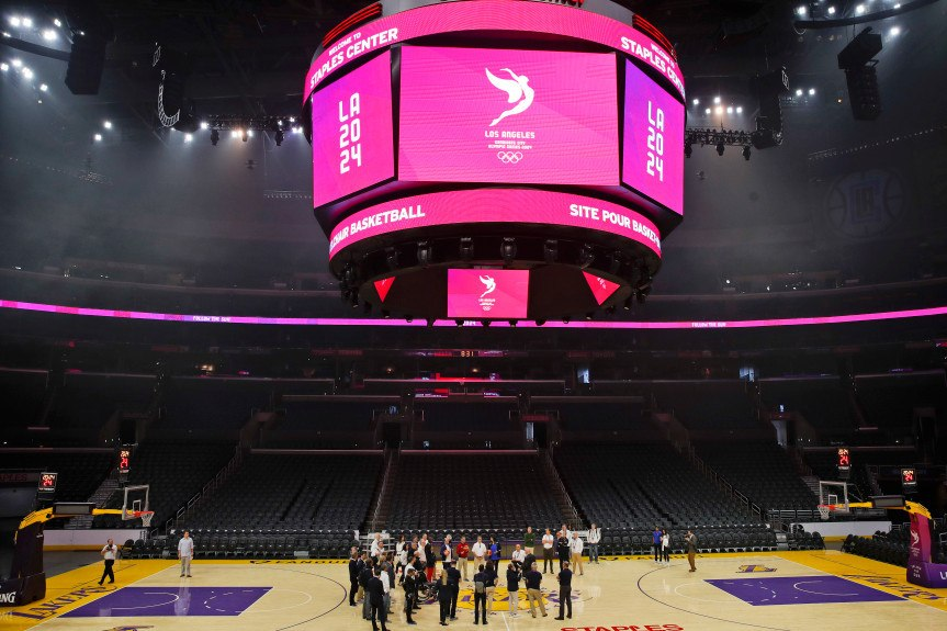 la 2024 olympics group shows off its biggest advantage — existing venues