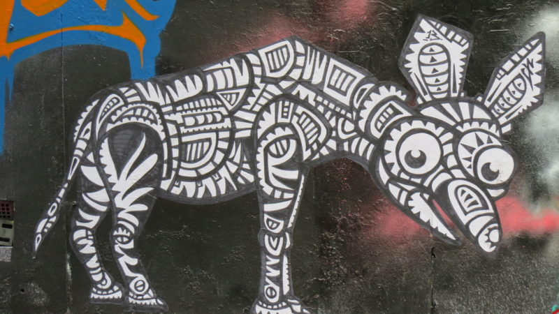 Melbourne Animal Graffiti