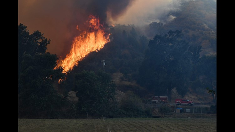 mendocino fire explodes to second-largest in california history