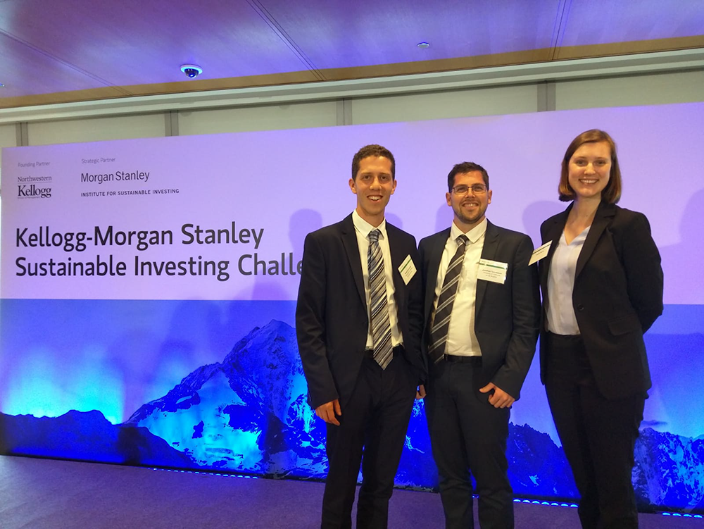 noam rosenthal kellogg-morgan stanley sustainable investing challenge finalist