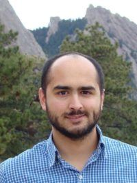 Atmospheric scientist Pablo Saide.