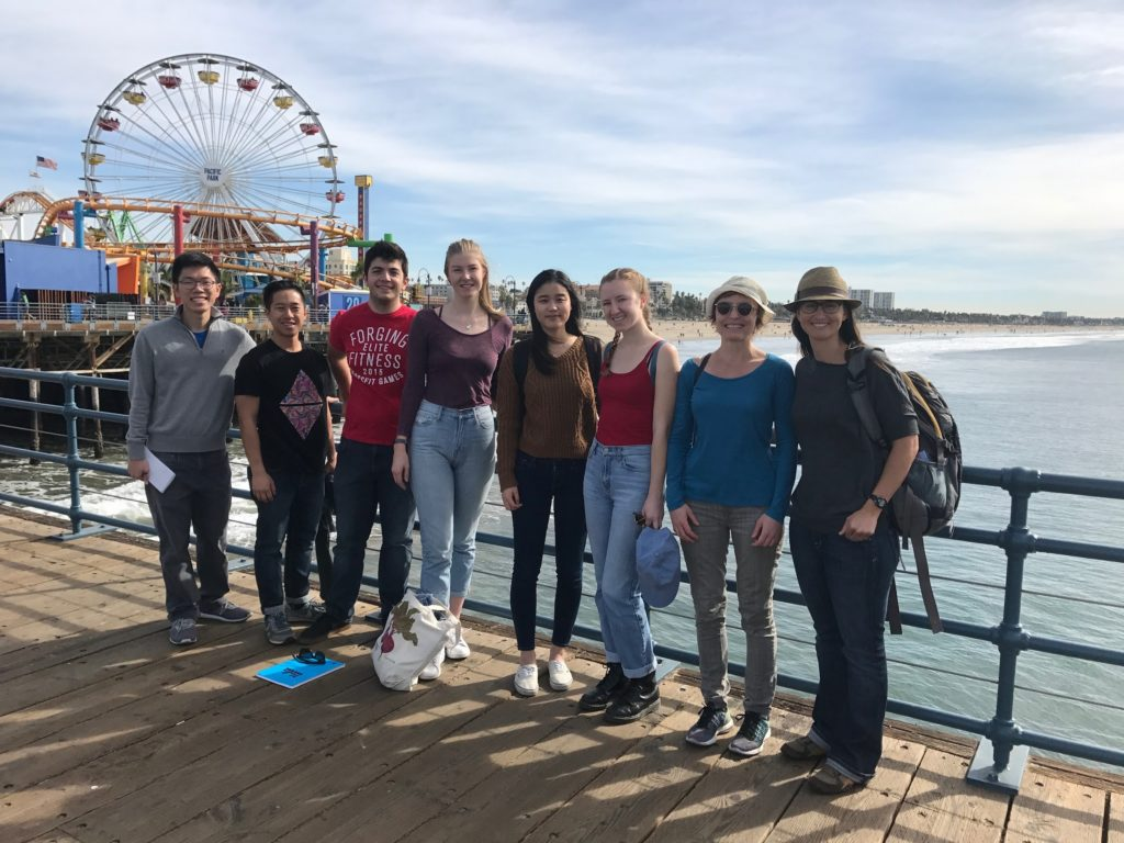 ucla students dig into santa monica pier's waste problem