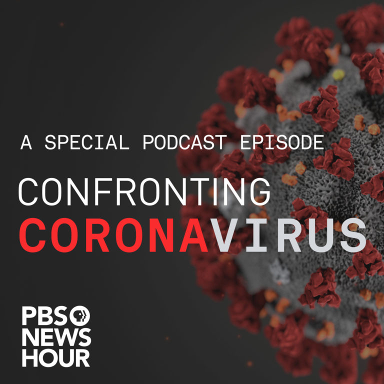"""peter daszak, senior research fellow at center for tropical research featured in a pbs newshour podcast """"understanding the coronavirus – a special episode"""""""