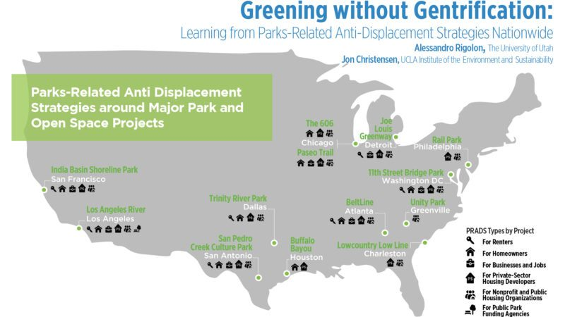greening without gentrification: learning from parks-related anti-displacement strategies nationwide