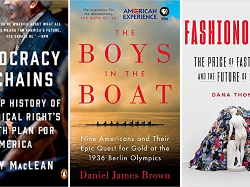 what they're reading: 2019 pritkzer award candidates book recommendations