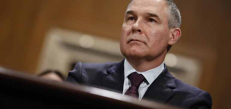 pruitt naaqs memo part of broad strategy to weaken air regs, lawyers say