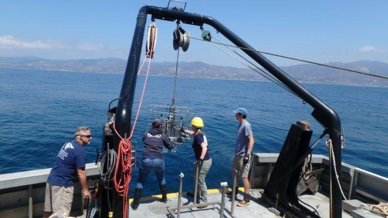 usc sea grant project: expansion of oxygen deficiency in the santa monica basin?