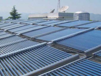 evaluation of community scale solar water heating in los angeles county