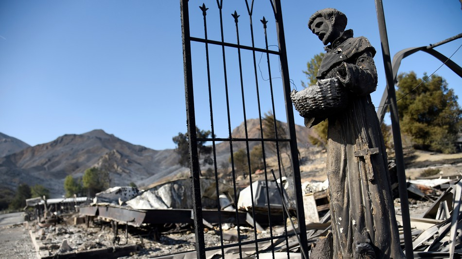 when will this terrible wildfire season in california end?