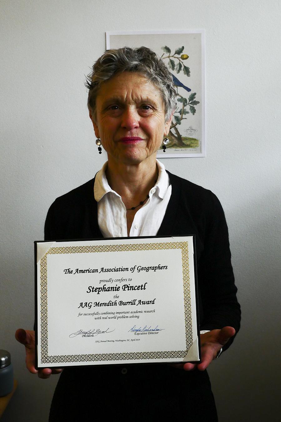 stephanie pincetl burrill-award