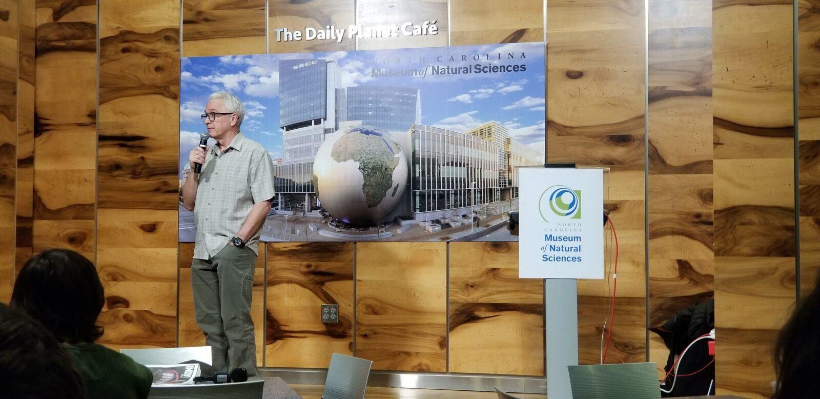 thomas smith presentation + q&a at north carolina museum of natural sciences